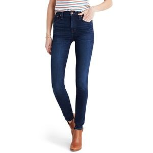 Madewell 10-Inch High Rise Skinny Jeans Petite 25